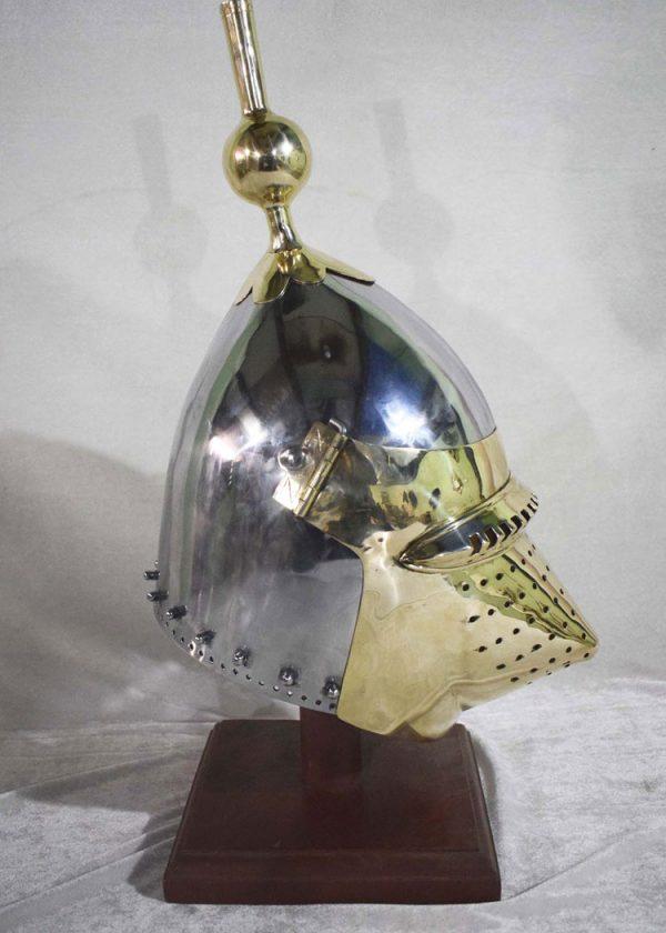 Bascinet Helmet (Houndskull)